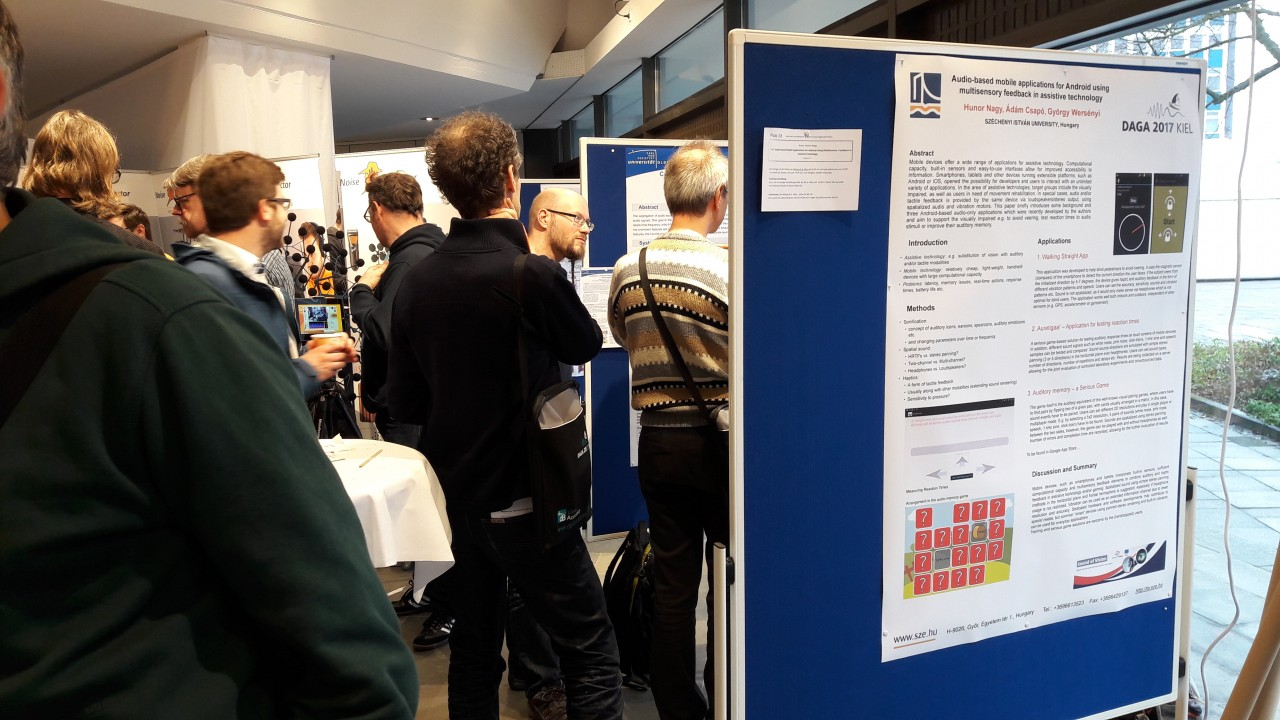 Conference poster presentation session