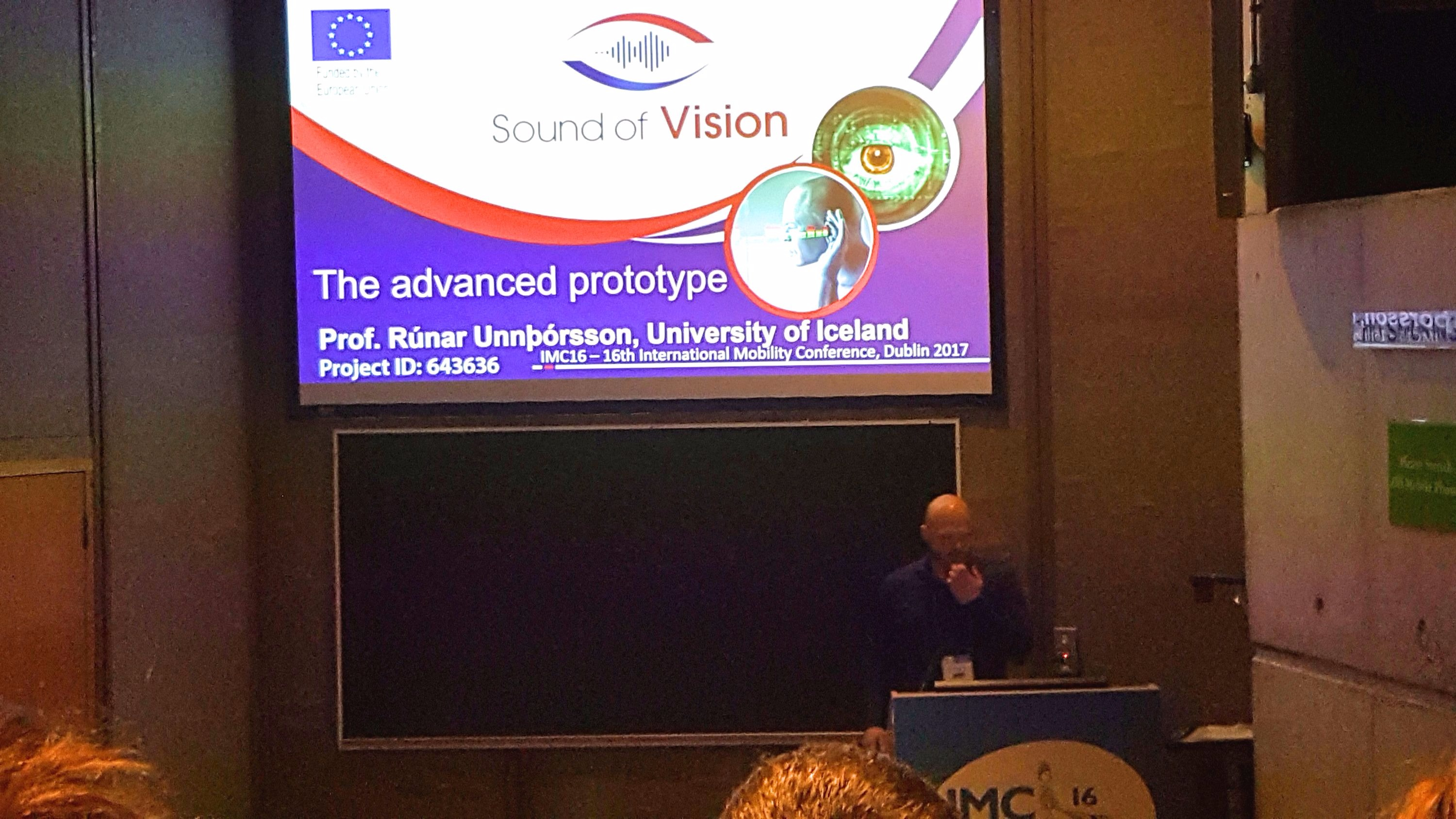 Sound of Vision advanced prototype presentation